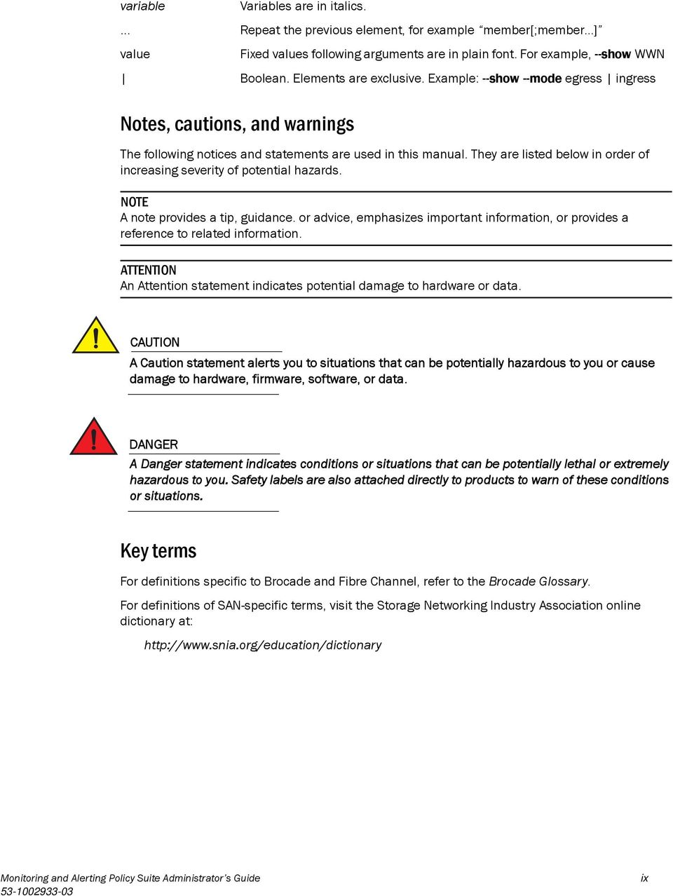 Monitoring and Alerting Policy Suite - PDF