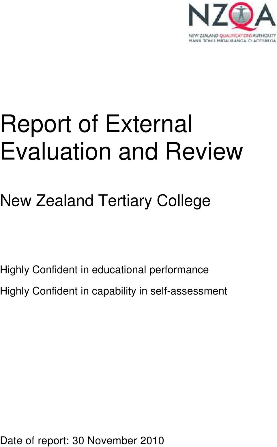 educational performance Highly Confident in