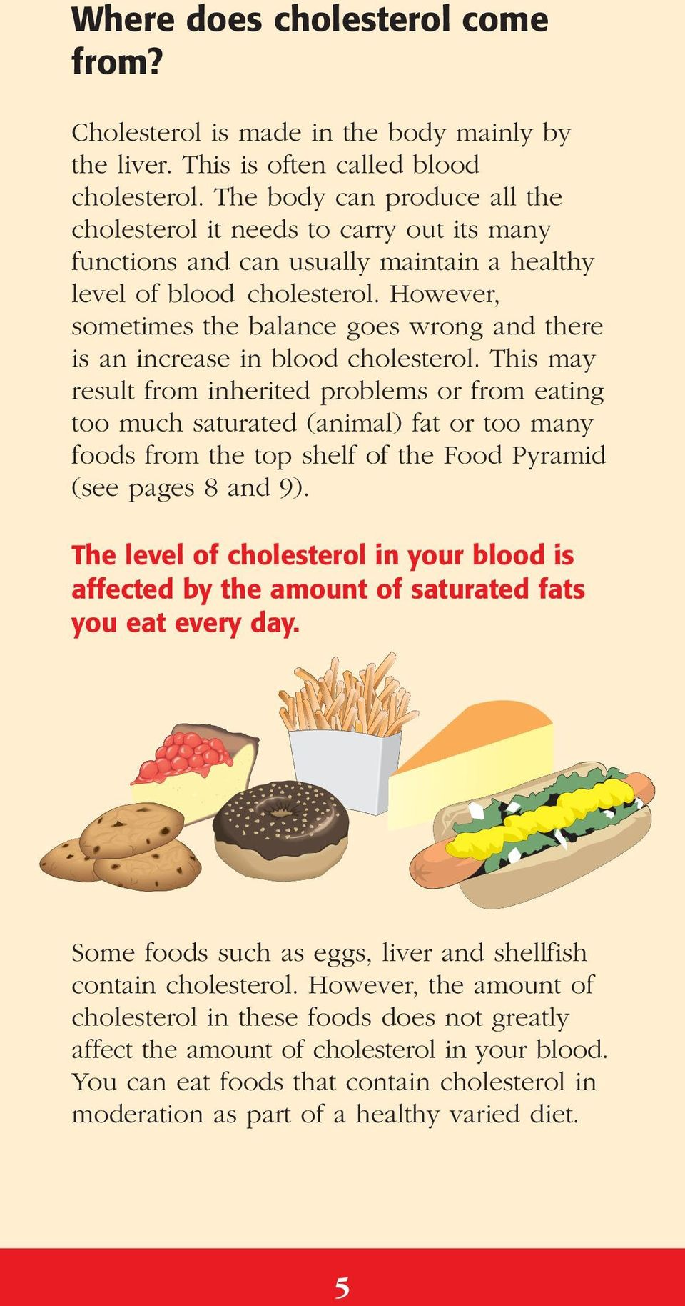 However, sometimes the balance goes wrong and there is an increase in blood cholesterol.