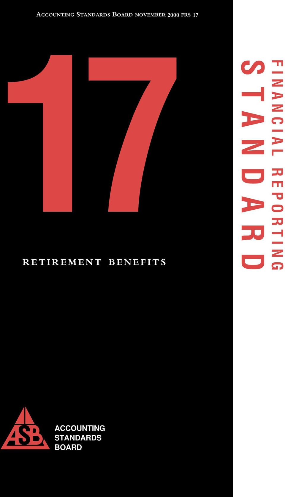 RETIREMENT BENEFITS FINANCIAL