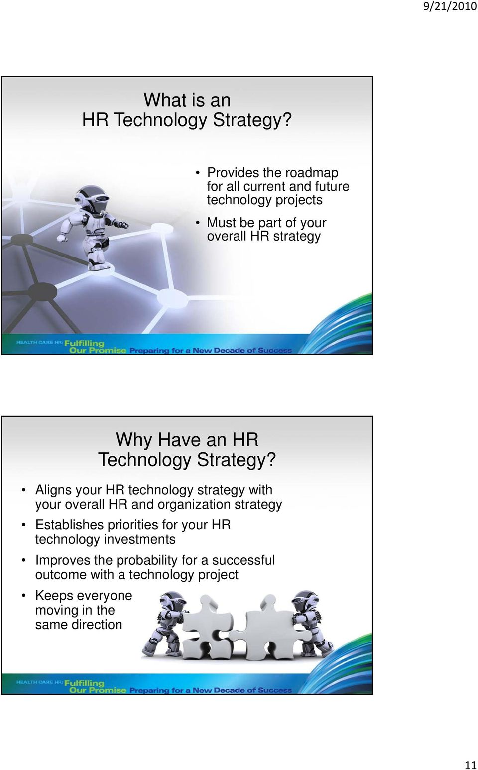 Why Have an HR Technology Strategy?