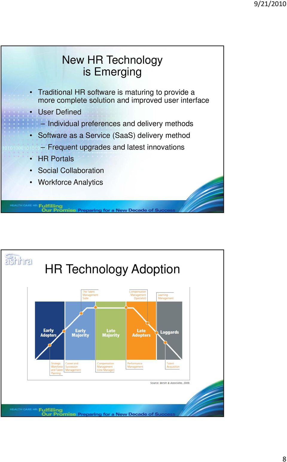 delivery methods Software as a Service (SaaS) delivery method Frequent upgrades and