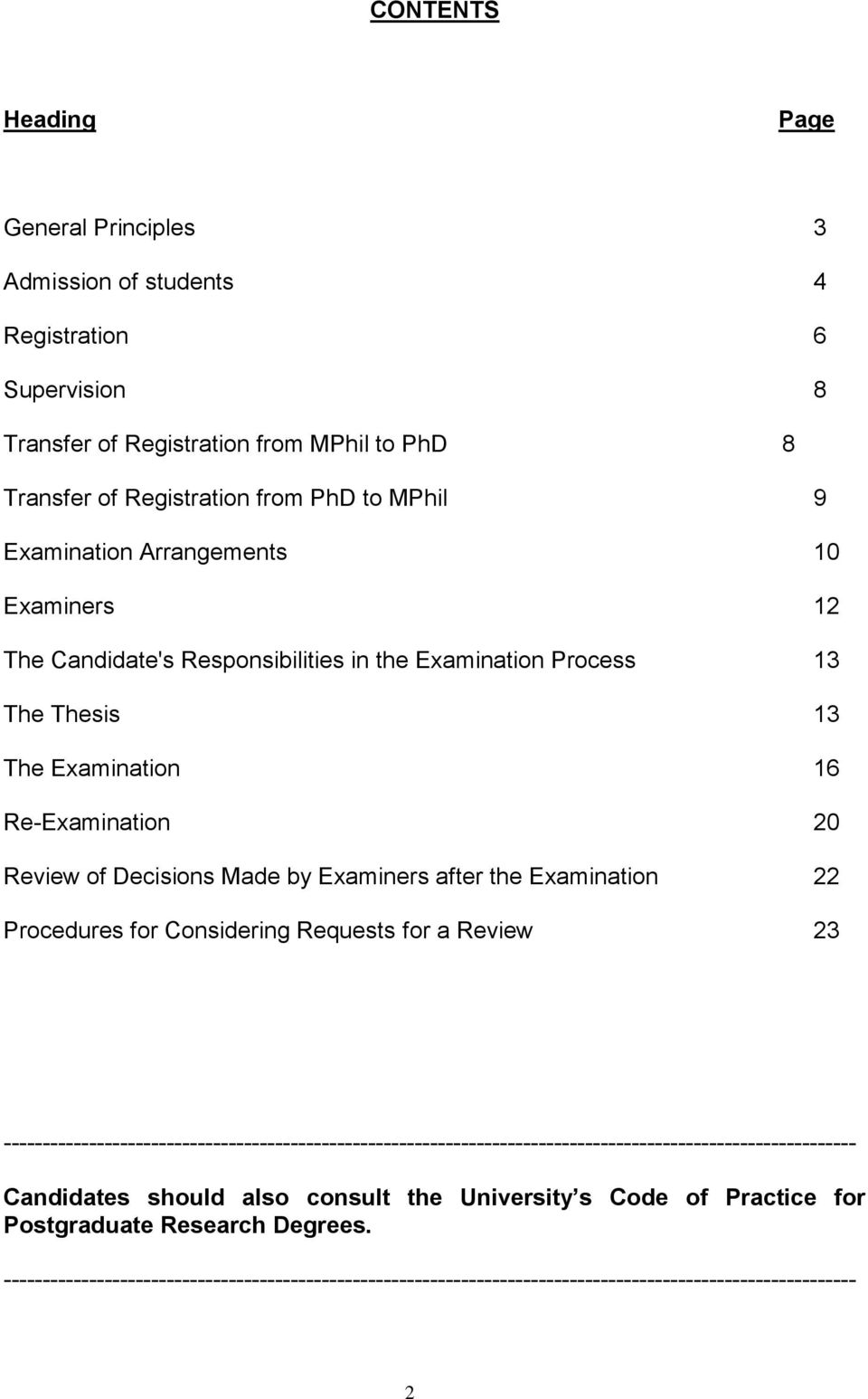 after the Examination 22 Procedures for Considering Requests for a Review 23 --------------------------------------------------------------------------------------------------------------