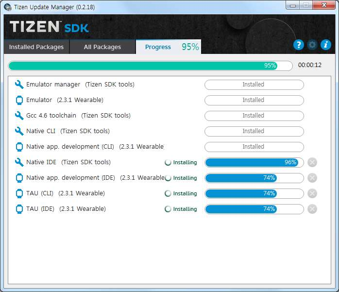 Developing Tizen Apps with the Tizen SDK  * This document is based