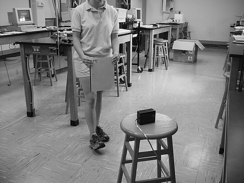 Experiment 2 -part 1A MOTION: Distance Graphs EQUIPMENT Motion detector Notebook Motion program INTRODUCTION In this investigation, you will use a motion detector to measure how you move.