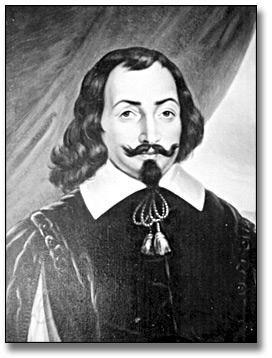 The French Presence in Ontario: Primary Sources Portrait painting of Samuel de Champlain, painted c.