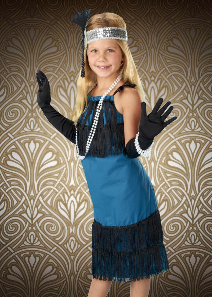 Gatsby Girl Teal standard pillowcase 5/8 inches wide black satin ribbon 3 1/2 yards of 4 inch long black fringe Madeira Aerofil all-purpose thread to match fabrics 1.