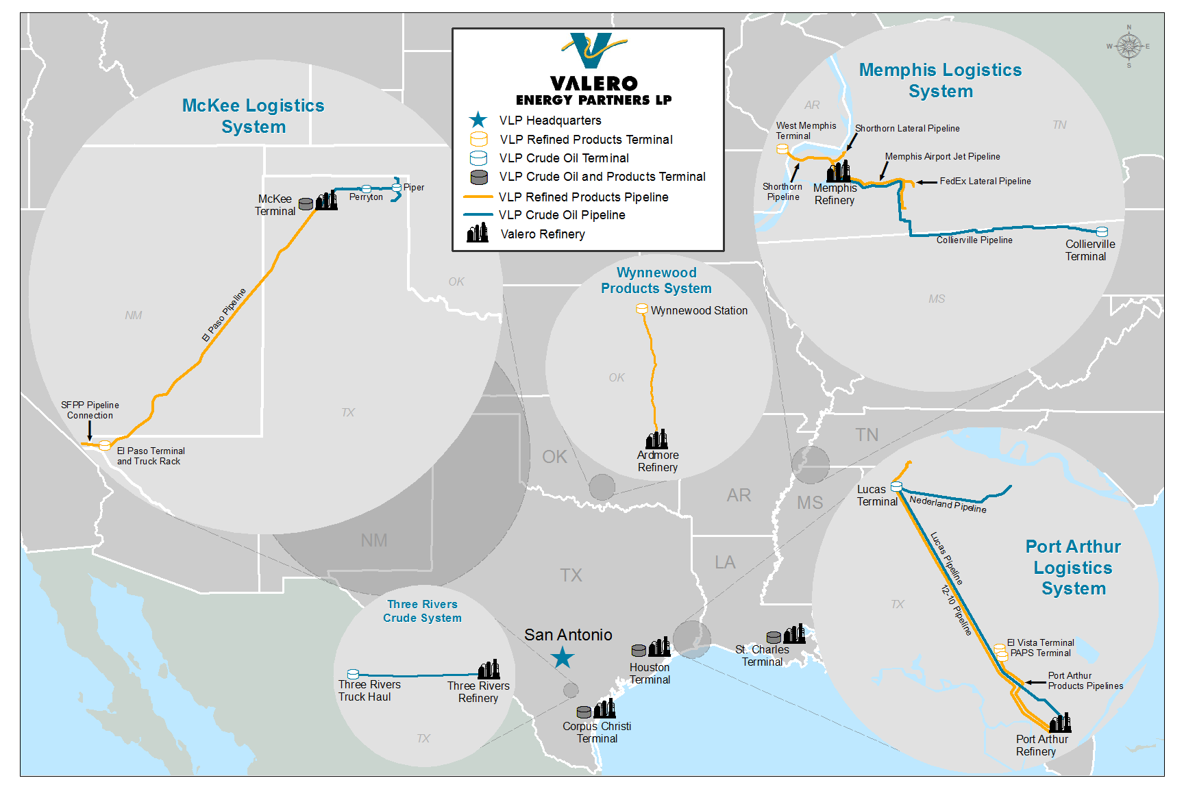 Growth-Oriented Logistics MLP with Diversified Portfolio, Integrated with VLO s Refining Assets IPO assets Drop downs 4 McKee Terminal April 1, 2016 - $240 mm (1) 1 Texas Crude Systems McKee, Three