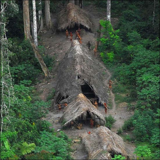 Isolated areas with some tribes have had little contact with the world Indigenous: less than 1% of the population, live