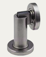(Matt White pictured below) Finishes: SC, PB 8067* Engaged length 37mm, PC Finish: CP, PB Foot Operated Door Holder 5063 170 34mm 26mm throw Hinge Pin Adjustable Door Stop 5277 These Door Stops