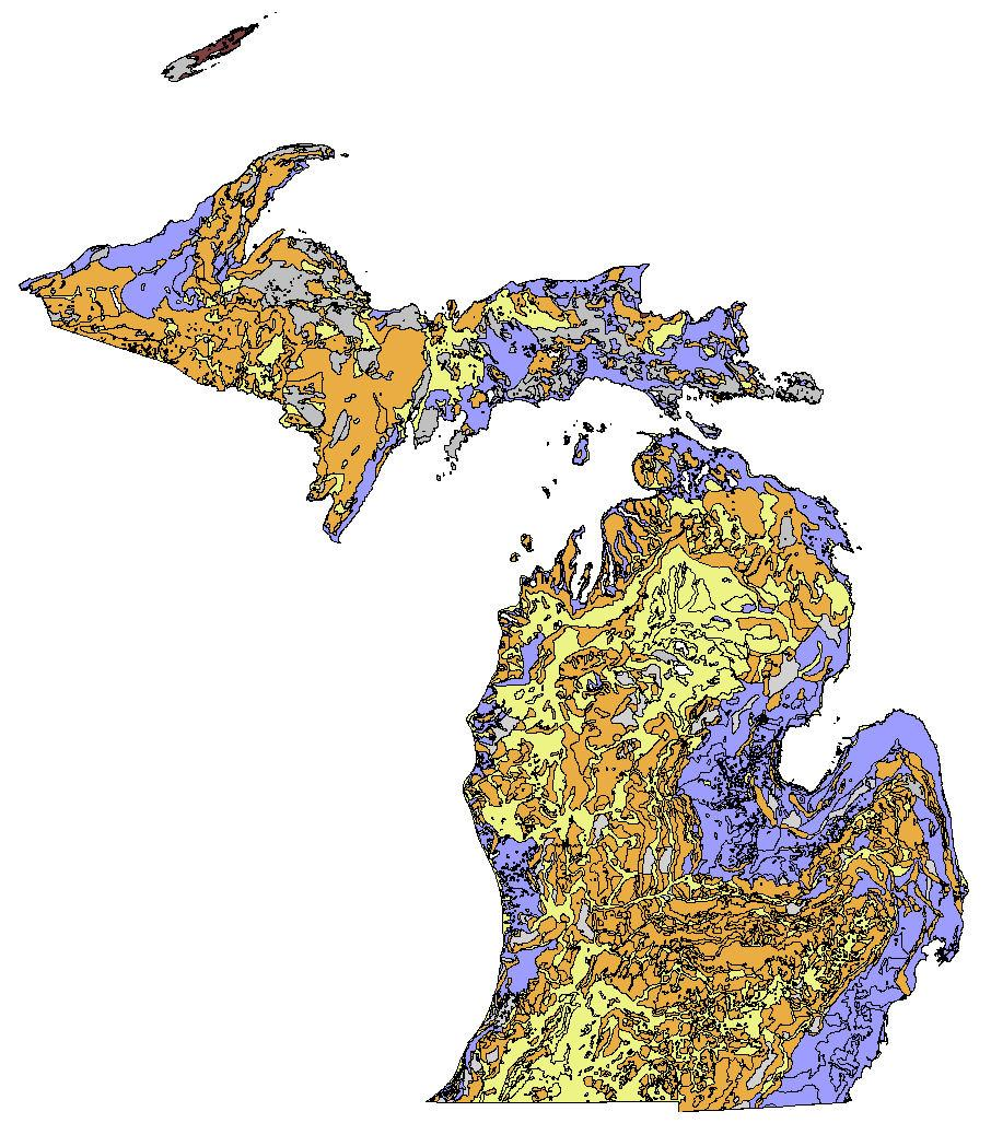Glacial Geology in Michigan Steve Wilson, 2006