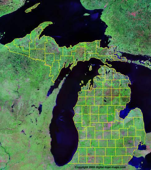 How do we know about the Geology of Michigan? We look around Michigan and observe the landforms, soils, beaches, etc.