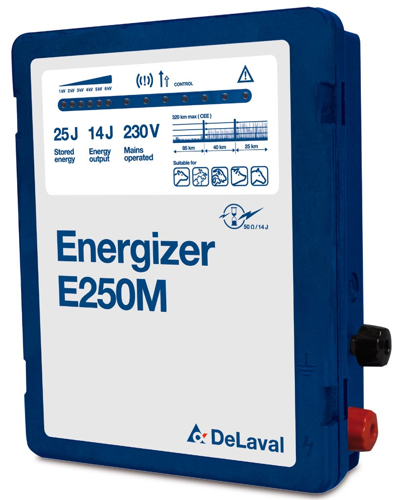 Electric Fencing Catalogue Keep Your Livestock Secure Pdf Mains Powered Energizers Delaval Operated Stored Energy In Joules Max