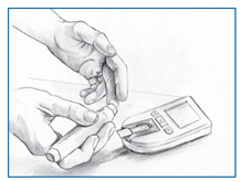 Continuous Glucose Monitoring What is glucose monitoring? Glucose monitoring helps people with diabetes manage the disease and avoid its associated problems.