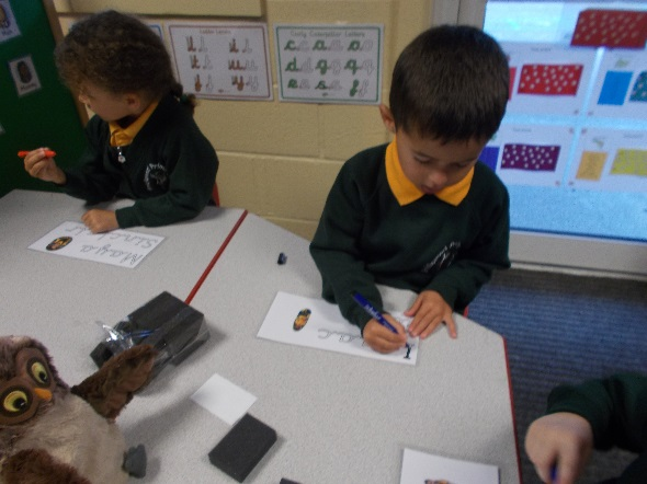 Literacy Writing Begin to use their phonic knowledge to write regular
