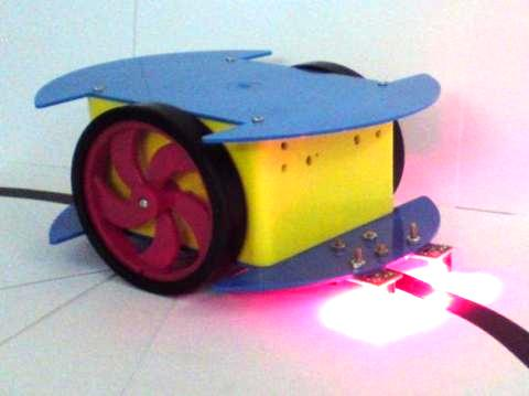 Autonomous Robots using Microcontroller- AVR/ 8051 The principal goal of education is to create men and