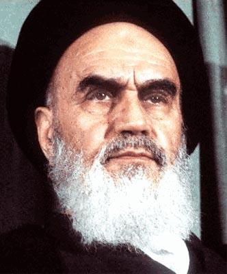 Ayatollah Khomeini A radical Islamic cleric who became the leader of