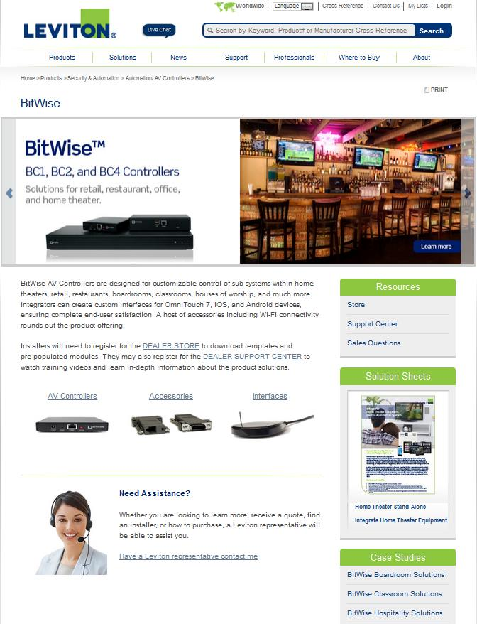 BitWise AV Control Solutions Technical and Sales Training. May 6, PDF