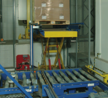 fork entry type conveyor