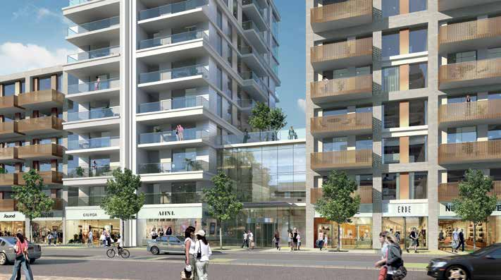 Our Proposals Supporting the retail offering on Tolworth Broadway The replacement of the existing retail space and car park adjacent to the Broadway present an opportunity to dramatically improve the
