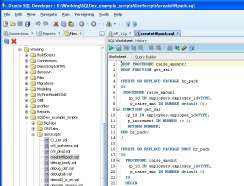 ASH and AWR Reports 19 File Based Development SQL Developer supports file based development Explore files in the Files