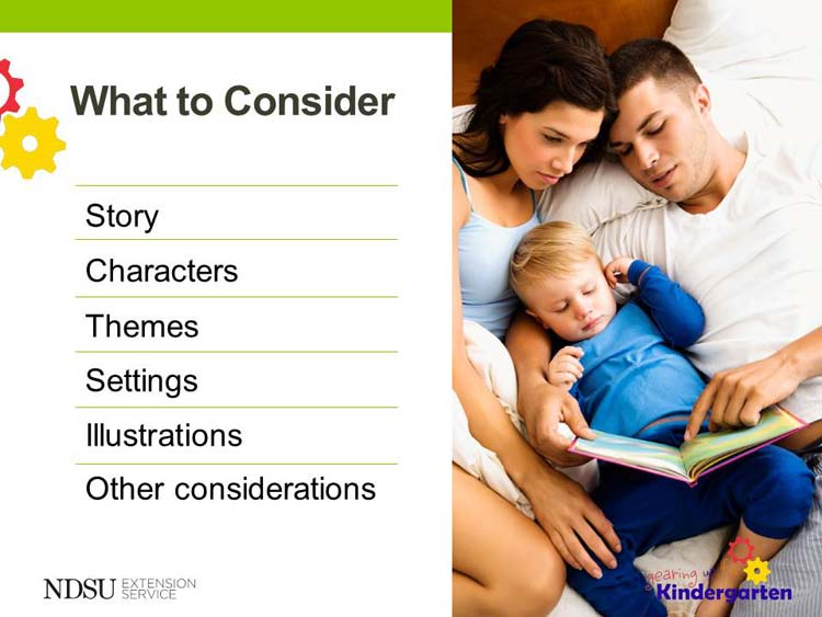 Slide 10 - What to Consider To do: n Use the handout Check List for Discussing Children s Literature from the A World of Difference Institute.