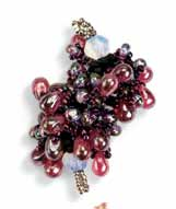 Berry Cluster 30 This is a simple but fantastic form for creating dimension and volume in botanical (as well as oceanic) inspired beadwork.