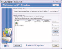 Tools NTI Shadow (Windows only) NTI Shadow is the backup tool you installed during the Setup Wizard. Use it to automatically copy your documents to the for safekeeping.