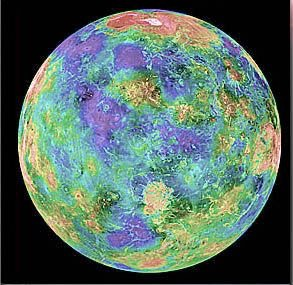 MAGELLAN 1989 : PROBE TO VISIT VENUS During its four years in polar orbit around Venus, the spacecraft radar-mapped 98% of the surface and collected high-resolution gravity data of Venus.