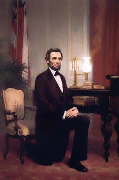 "On June 16, 1858 presidential candidate Abraham Lincoln referred to the separation of the North and South by saying: ""A house divided against itself"