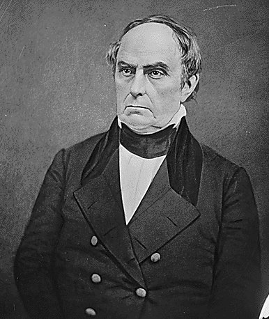 We must preserve the Union! Senator Daniel Webster of Massachusetts spoke next saying: I speak today not as a Massachusetts man, nor a northern man, but as an American.