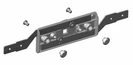 8 MM SQUARE DRIVE ROLLER DOOR LOCK This lock is ideal for use on truck shutters and applications that require a T handle to provide 2-point locking.