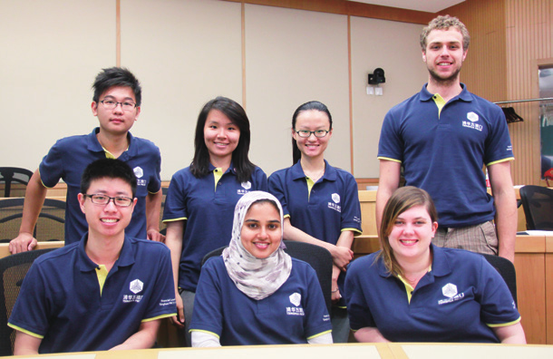 TSINGHUA PBCSF EXPERIENCE The summer program attracts talented students from all over the world.