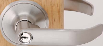 CHELSIE SERIES LEVERSETS SOPHIA SOP SERIES (NON-HANDED) Keyed entry comes with lever / lever for exterior & interior. Kwikset keyway. Re-keyable for master and construction keying.