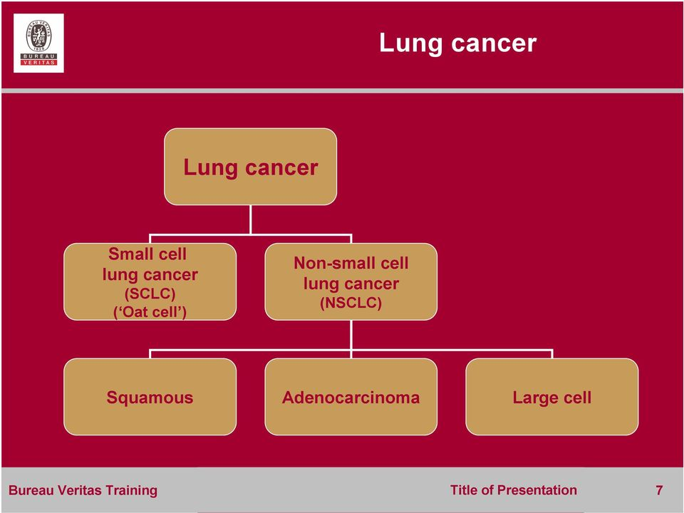 lung cancer (NSCLC) Squamous Adenocarcinoma