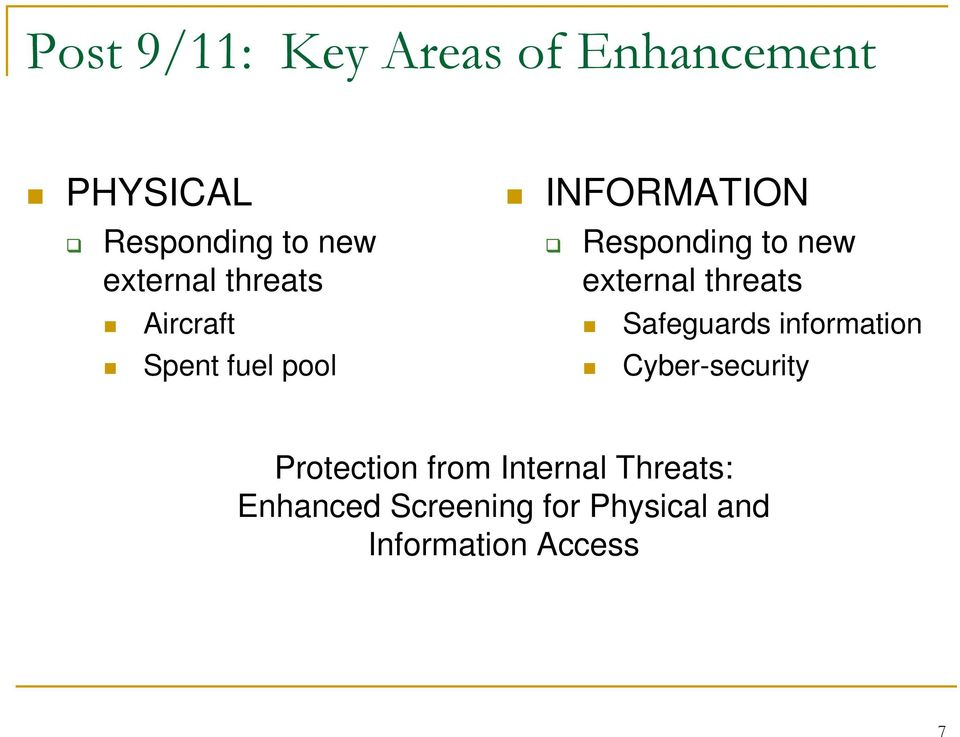 new external threats Safeguards information Cyber-security Protection