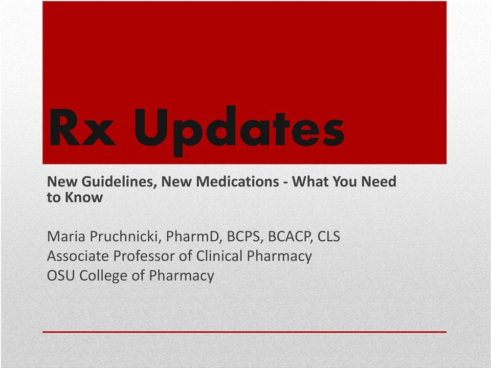 PharmD, BCPS, BCACP, CLS Associate