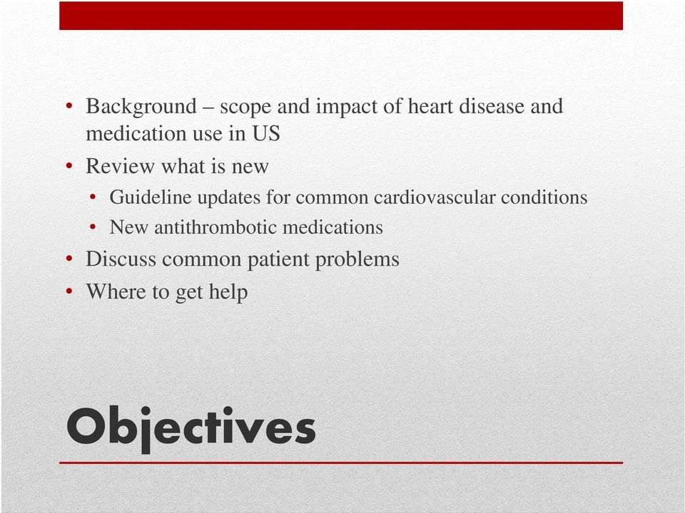 for common cardiovascular conditions New antithrombotic