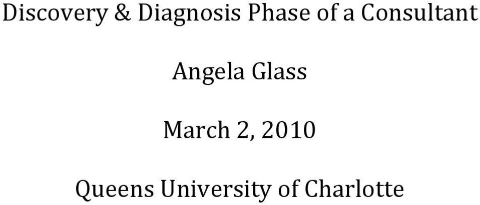 Angela Glass March 2,