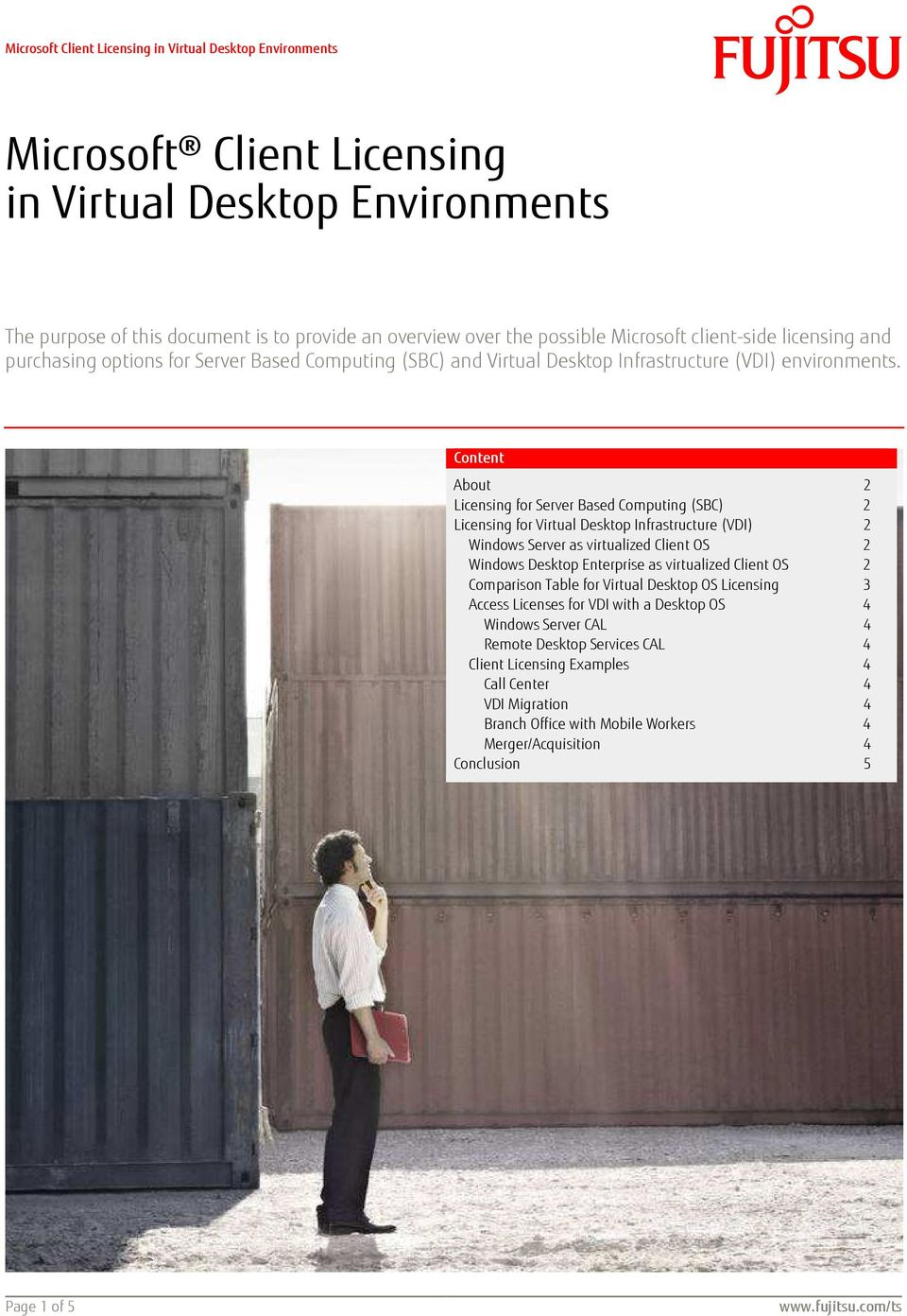 Microsoft Client Licensing in Virtual Desktop Environments - PDF