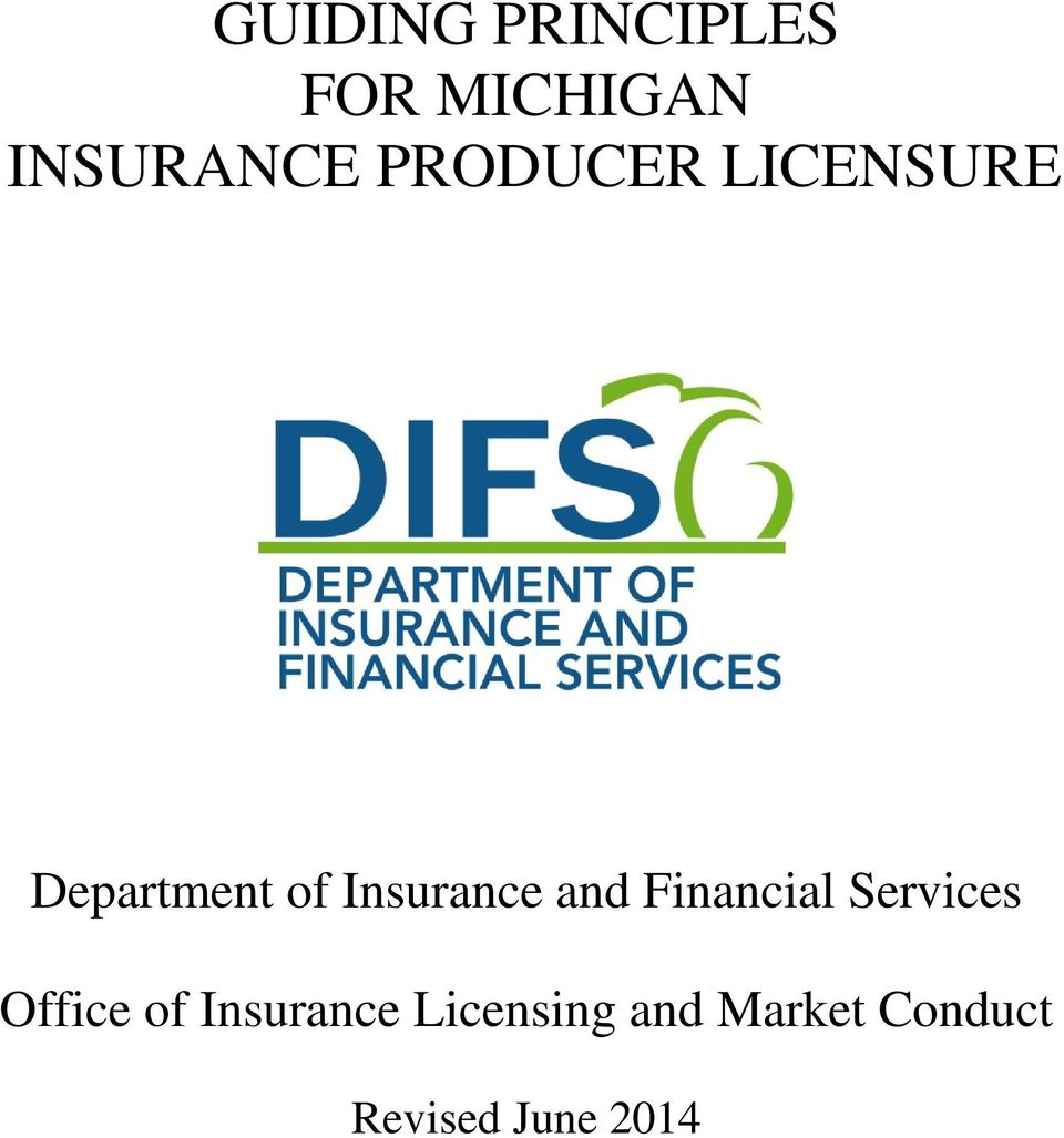 of Insurance and Financial Services