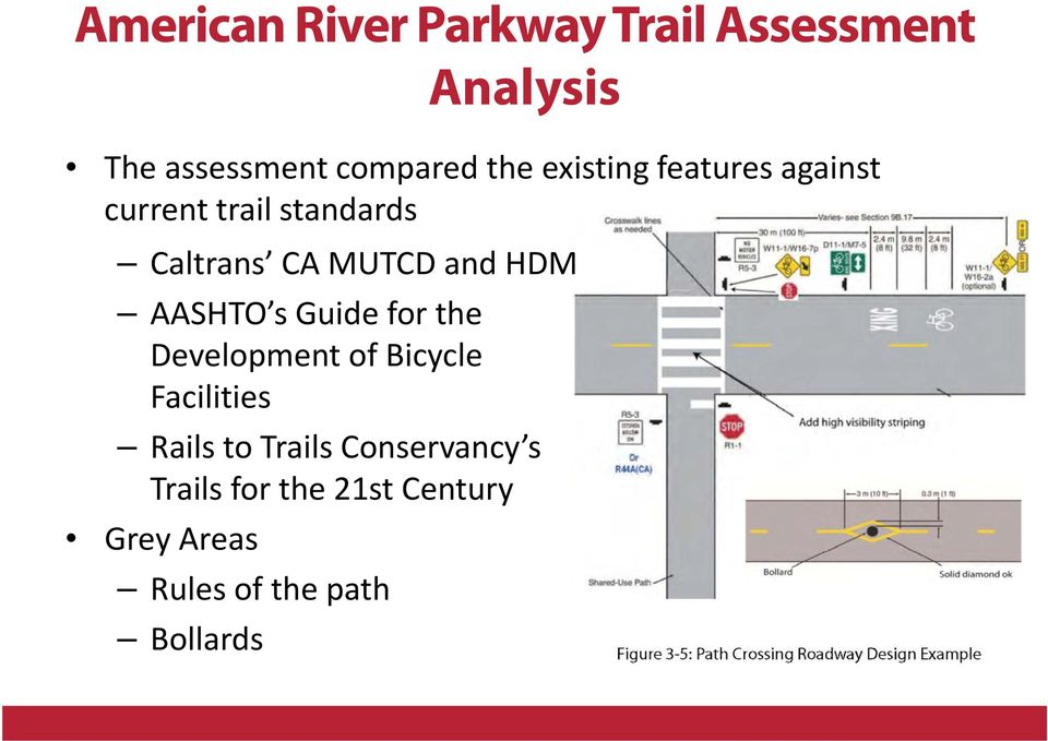 Guide for the Development of Bicycle Facilities Rails to Trails Conservancy