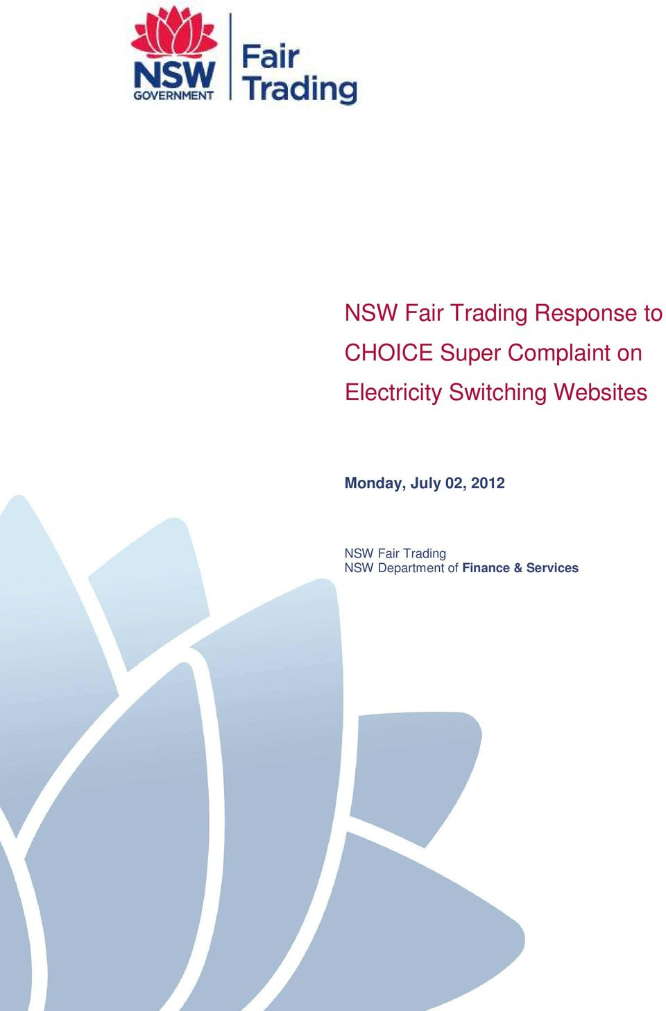 Websites Monday, July 02, 2012 NSW Fair