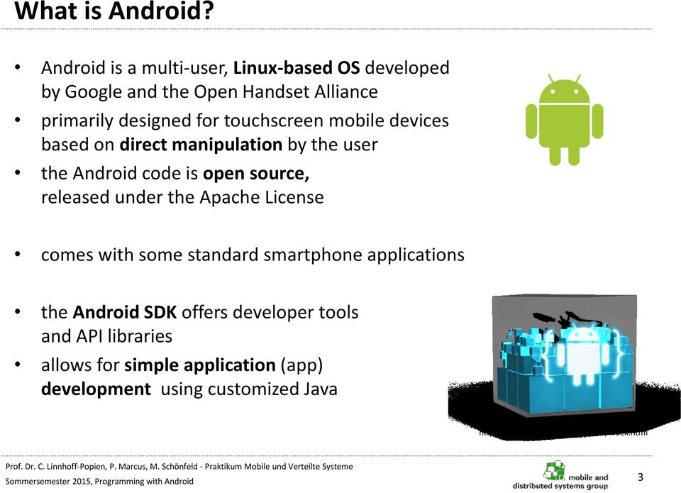 Programming with Android - PDF