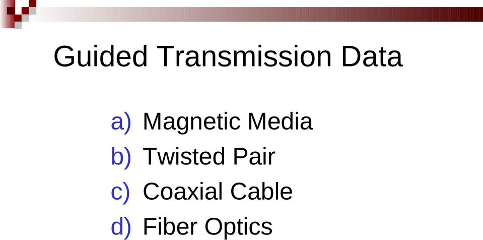 Magnetic Media Twisted