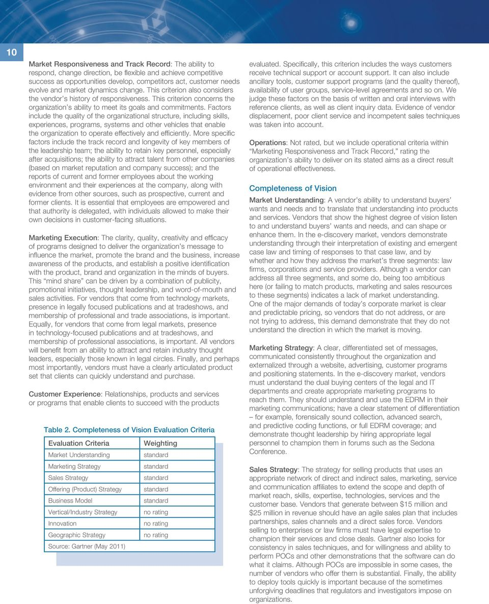 gartner magic quadrant for e discovery software pdf