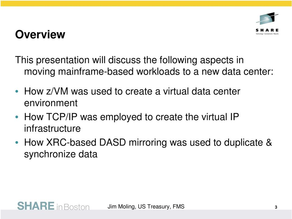 virtual data center environment How TCP/IP was employed to create the virtual