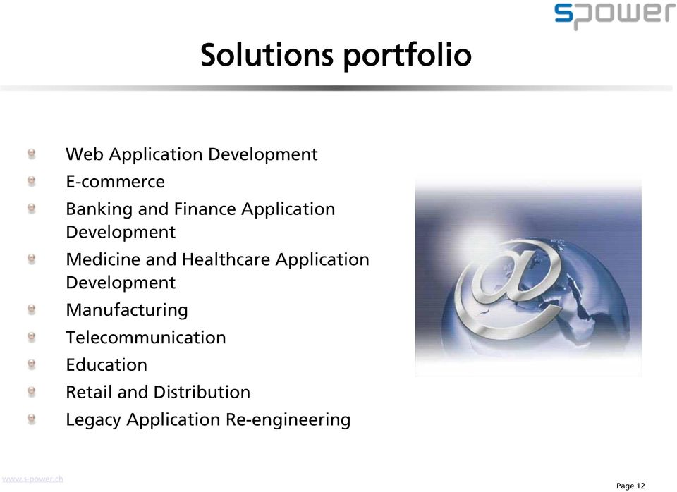 Healthcare Application Development Manufacturing