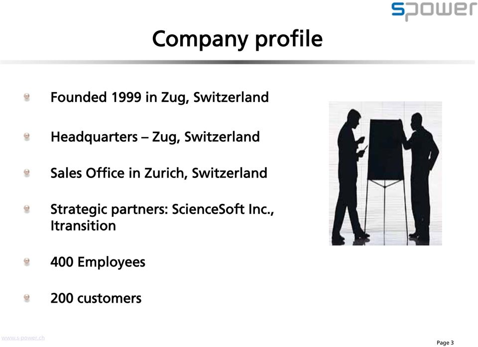 Zurich, Switzerland Strategic partners: