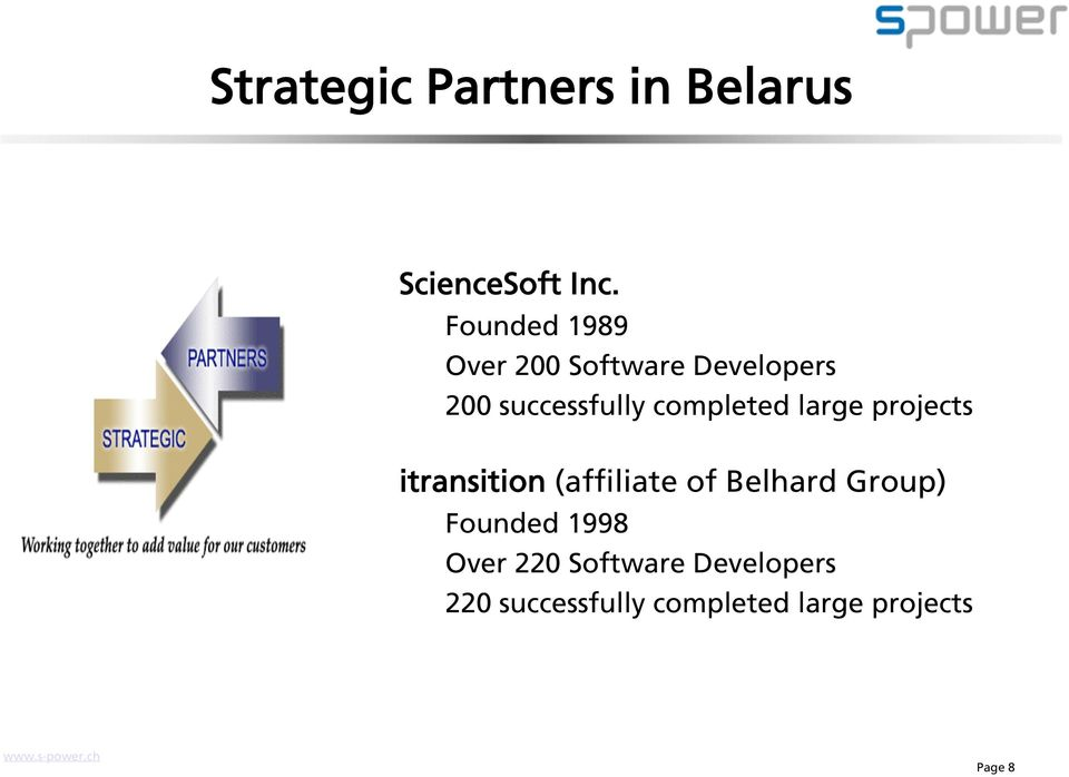 completed large projects itransition (affiliate of Belhard Group)